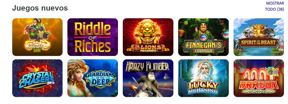 nuevas tragamonedas en casinos online