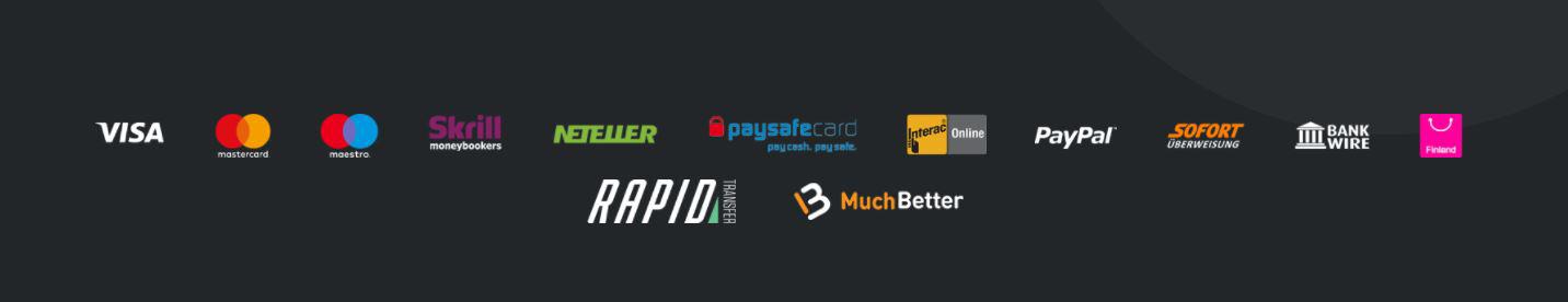 varios metodos de pago