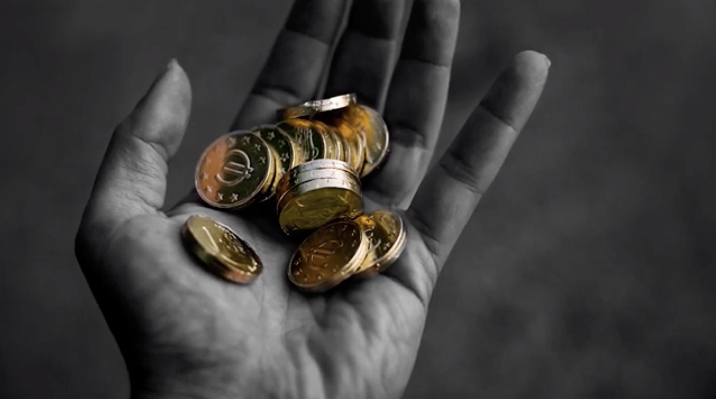 Bitcoin transacciones a la mano